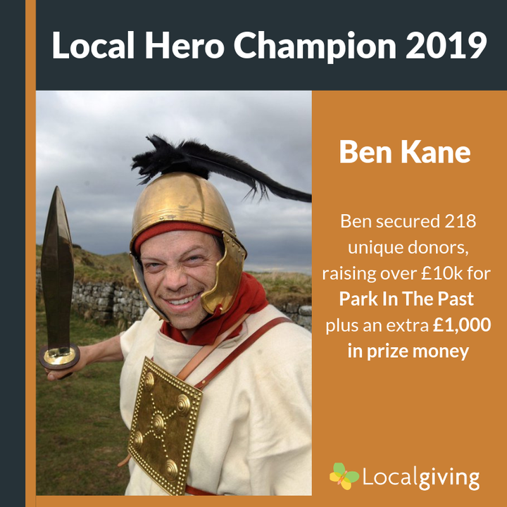 Best-Selling Author Crowned Local Hero 2019 Champion
