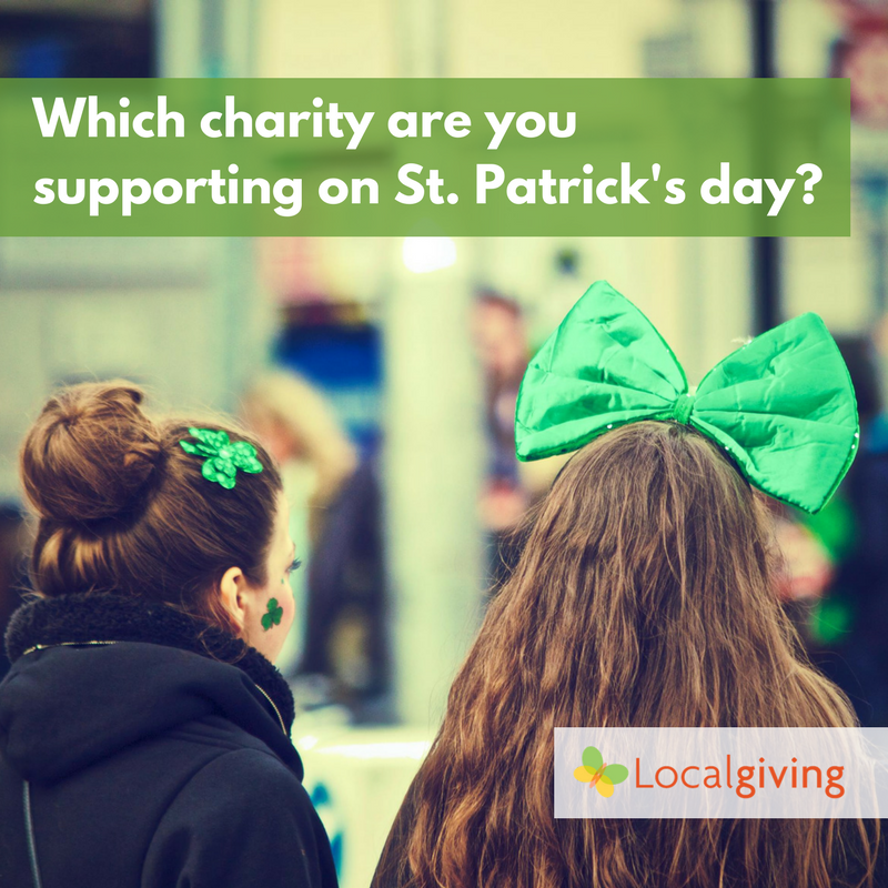 Which charity are you supporting on St.Patrick's Day?