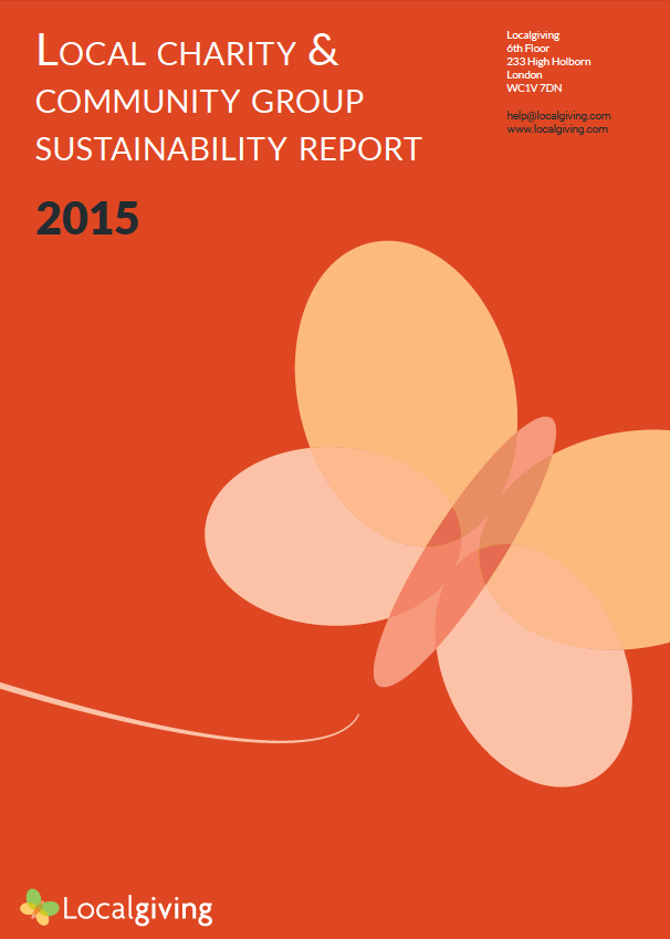 Local Charity and Community Group Sustainability Report - 2015