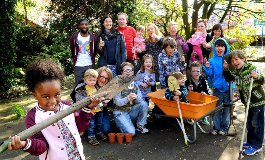Planting, Play and Birds of Prey in the North West